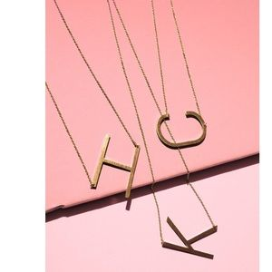 Jewelry - Ellison + Young: Initial Necklace